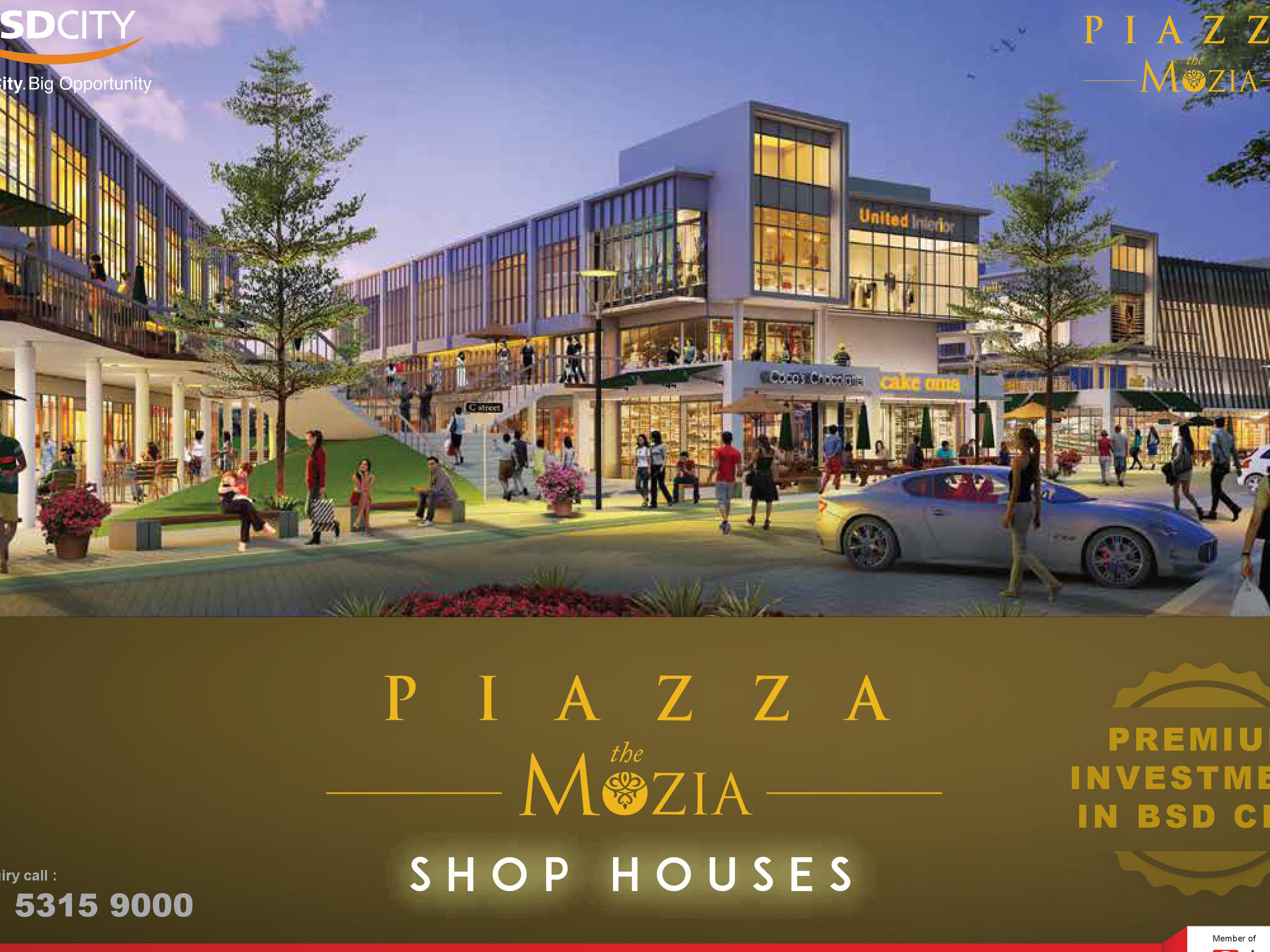 Ruko-Piazza-The-Mozia-BSD-City-Sinarmas-Land