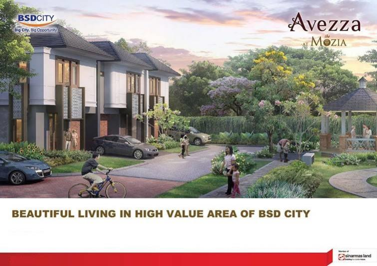 Dijual-Rumah-BSD-City-Sinarmas-Land-Avezza-at-The-Mozia