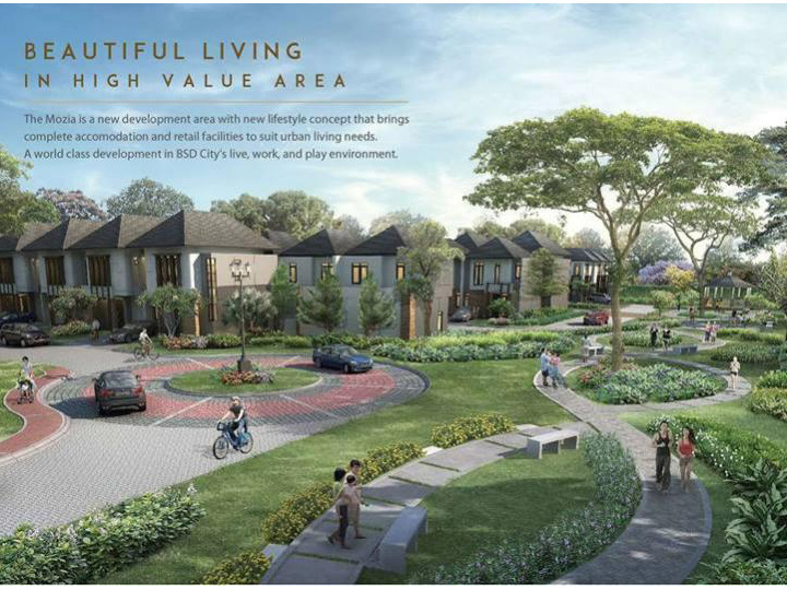 Dijual Rumah BSD City Sinarmas Land – Avezza at The Mozia