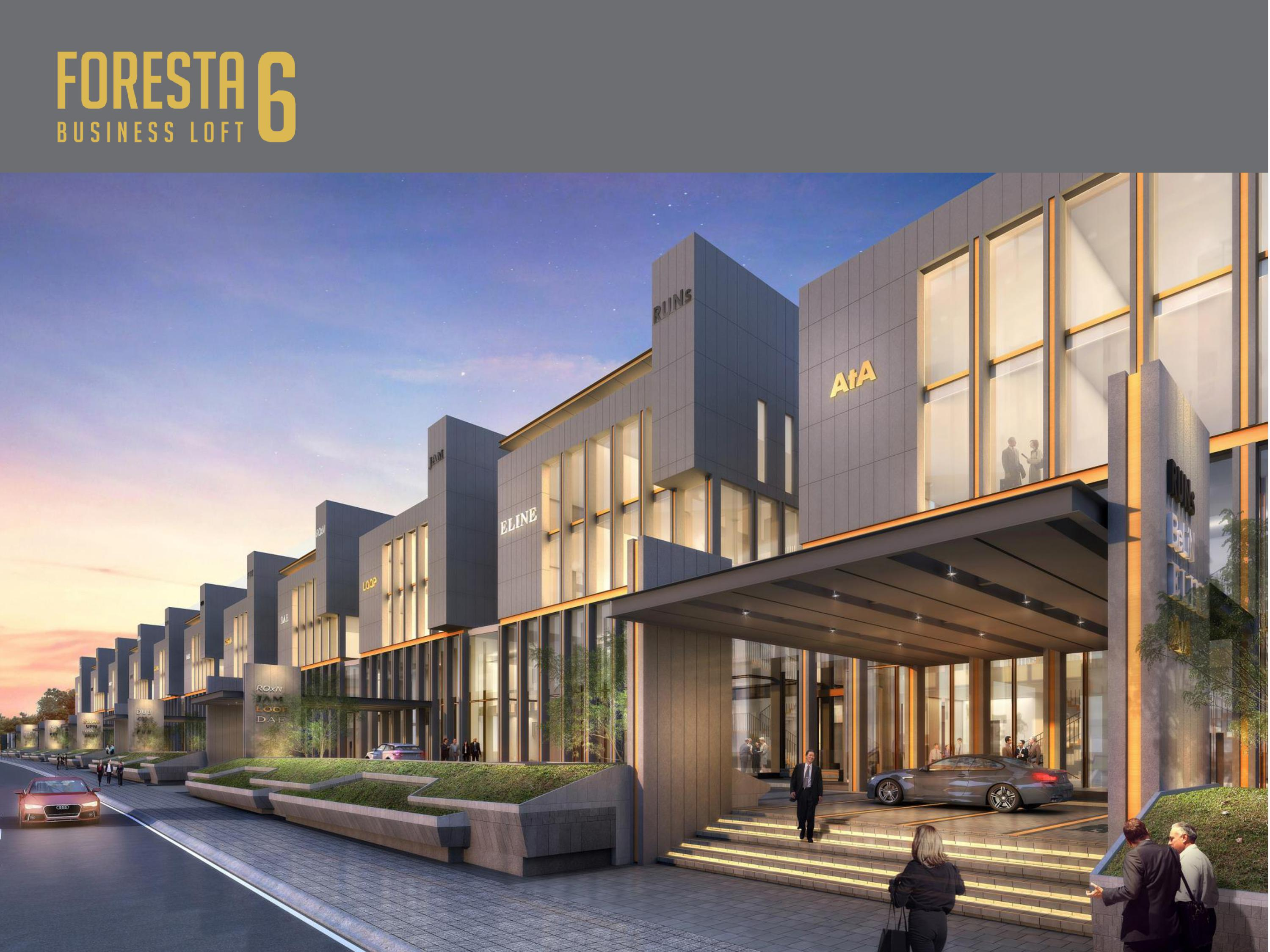 Dijual Office Sinarmas – Foresta Business Loft 6 BSD City