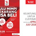 PROMO EASY DEAL SINARMAS LAND – BSD City Sinarmas Land